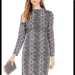 Stunning INC  snake skin patterned dress